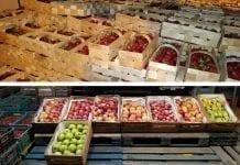 Między skrzynkami… czereśnie, jabłka, truskawki, owoce miękkie