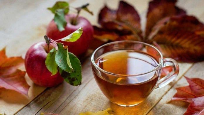 Jabłka i herbata bogate we flawonoidy