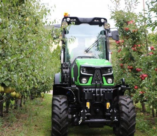 Deutz-Fahr 5DS TTV – nowoczesny ciągnik sadowniczy