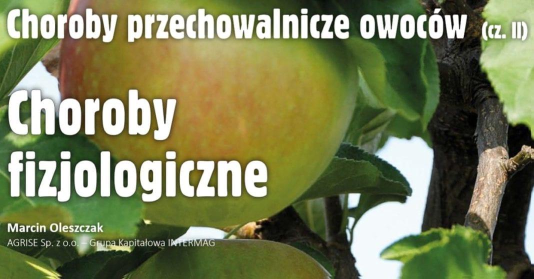 Choroby przechowalnicze owoców