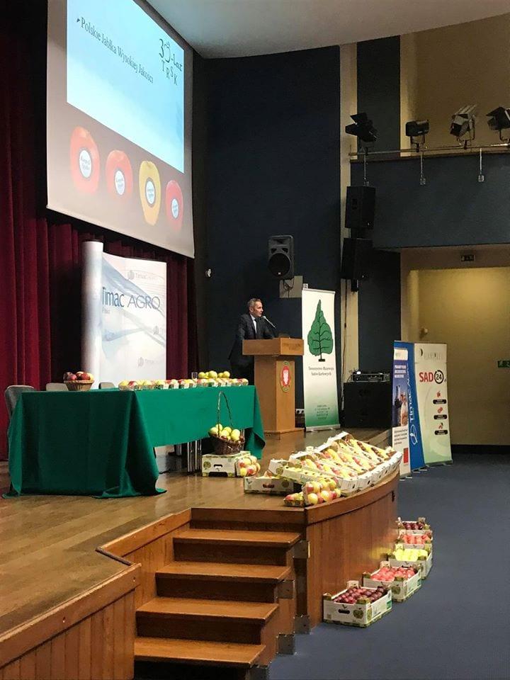 Jubileuszowa Konferencja Sadownicza zorganizowana z okazji 30-lecia Towarzystwa Rozwoju Sadów Karłowych - fot.2
