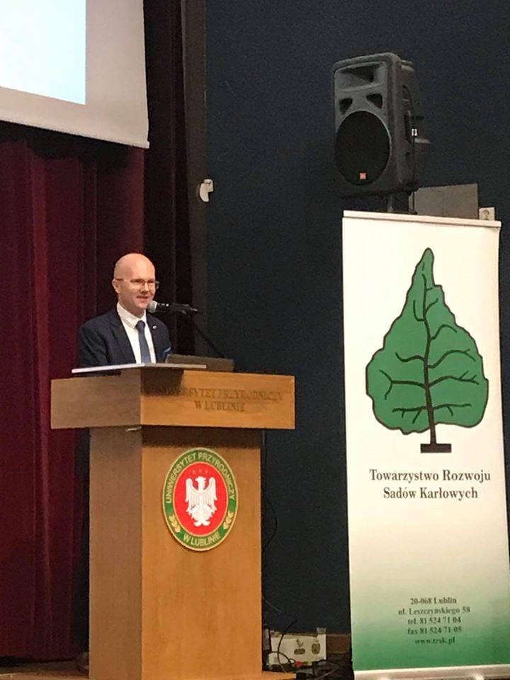 Jubileuszowa Konferencja Sadownicza zorganizowana z okazji 30-lecia Towarzystwa Rozwoju Sadów Karłowych - fot.4