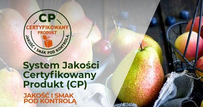 System Jakości Certyfikowany Produkt (CP)
