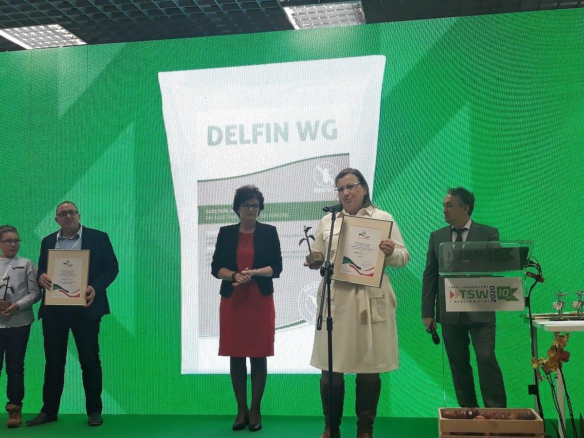 Nagroda dla Agrosimex za produkt Delfin WG