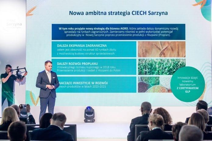BiznesPlon 2020 - Wojciech Babski, szef biznesu AGRO w Grupie CIECH