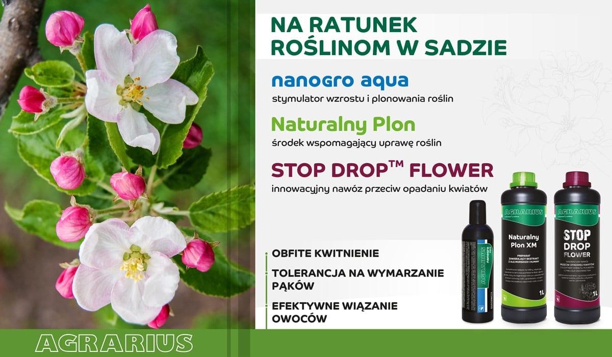 Naturalny Plon - STOP DROP FLOWER - nanogro aqua