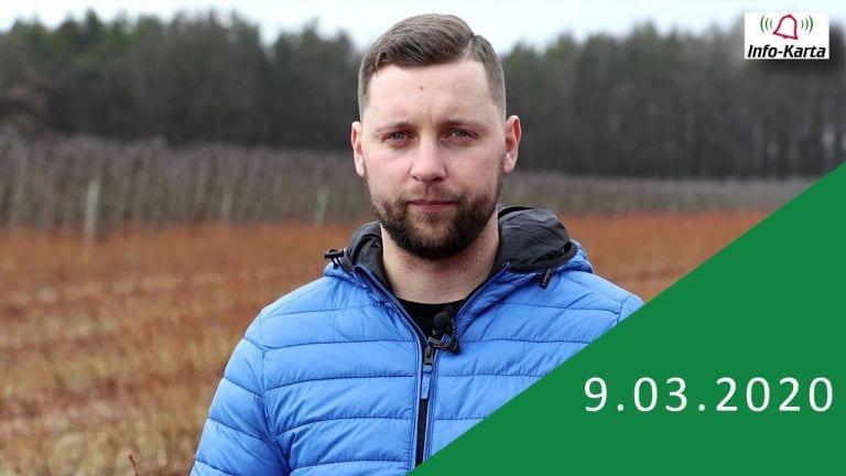 Borówka na początku wegetacji – komunikat jagodowy Agrosimex 09.03.2020 (VIDEO)