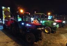 sadownicy odkażają grójec