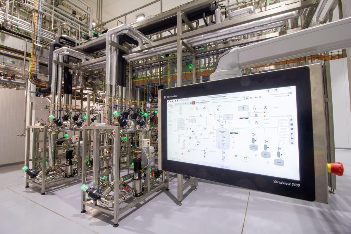 Zdj. 2. Automatyczny system kontroli instalacji technologicznej.