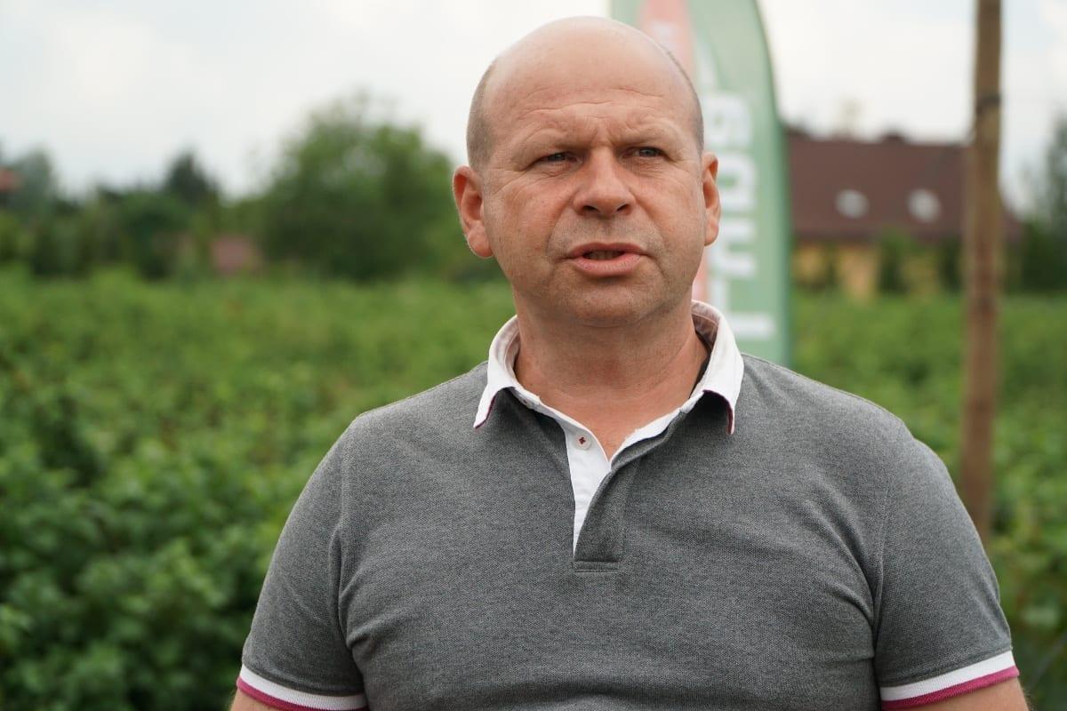 dr Piotr Baryła, jeden z gospodarzy