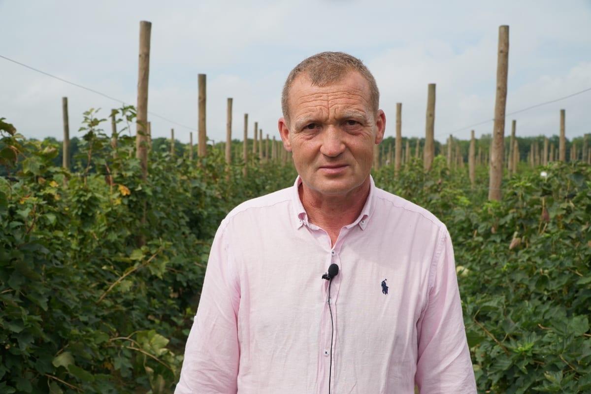 Tomasz Woźniak, współwłaściciel plantacji