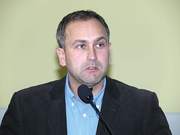 Fot. 3. Tomasz Gasparski z Bayer CropScience podał zalecenia skutecznego użycia preparatu Movento 100 SC