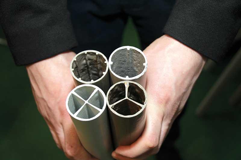 FOT. 3. Podpory sadownicze X-plast to seria produktów o różnej konstrukcji i wytrzymałości