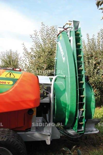 FOT. 7. Podwójny wentylator w opryskiwaczu Agrola
