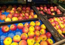 jabłka market