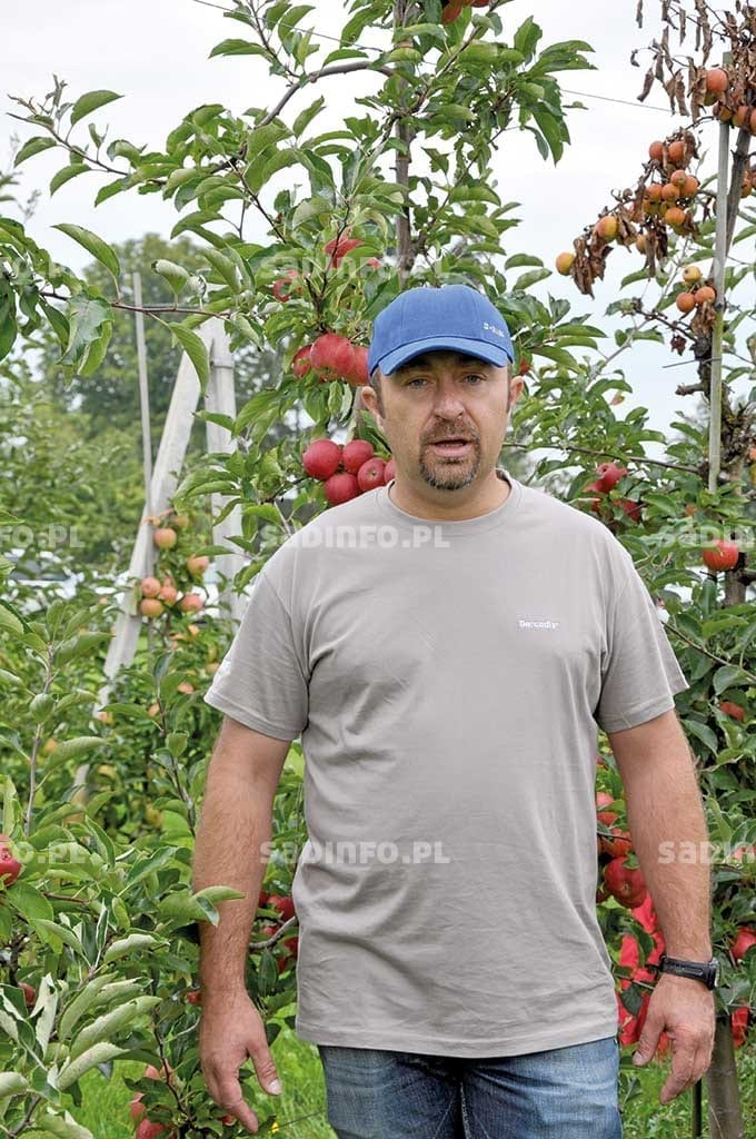 Fot. 2. Dr Jacek Lewko od 7 lat zajmuje się badaniami nad fungicydem Sercadis®