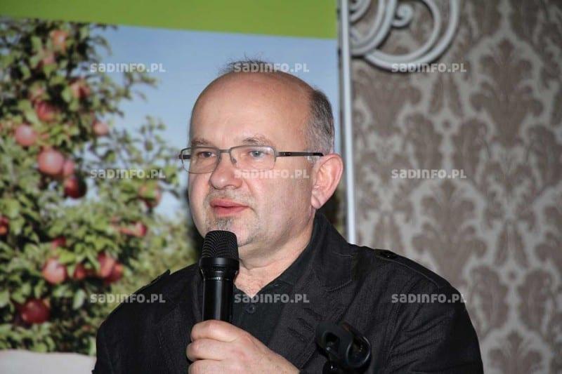 Fot. 4. Eugeniusz Tadel z Centrum Szkoleniowego Techniki Ochrony Roślin w Tarnowie