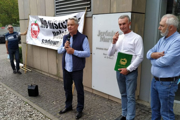 protest sadowników