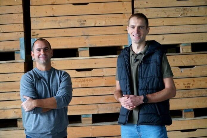 Cezary Rokicki i Arek Sławiński