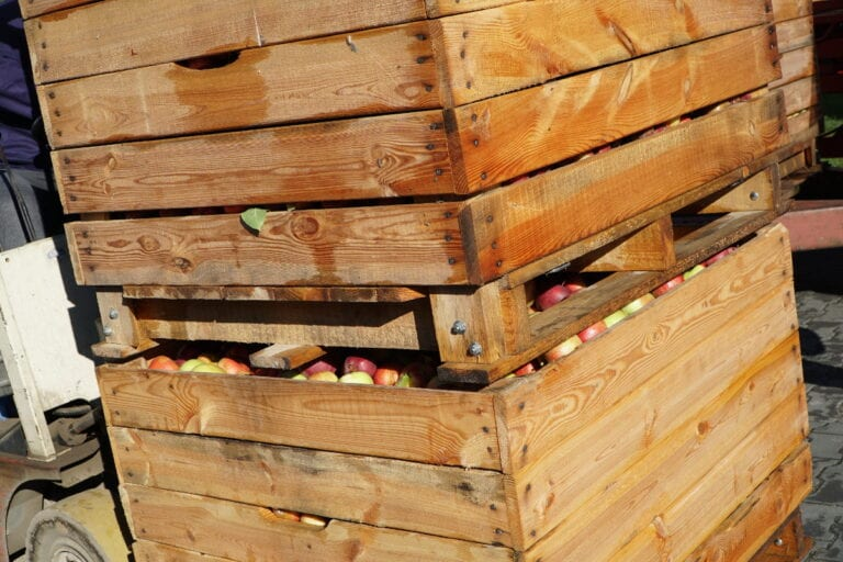 Sadownicy odczuwają wysokie ceny drewna