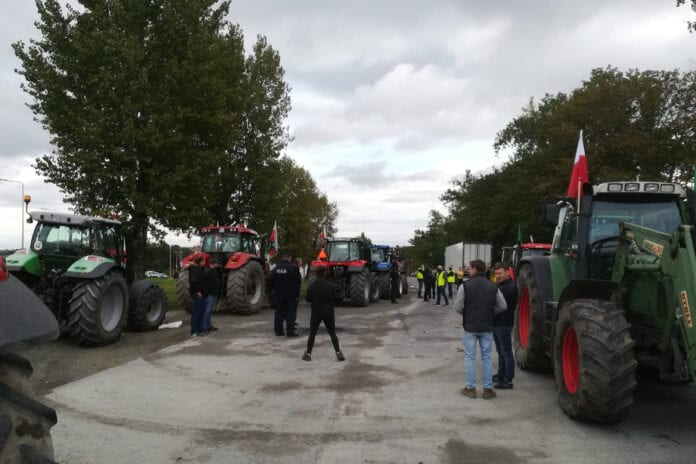 strajk rolników w całej Polsce