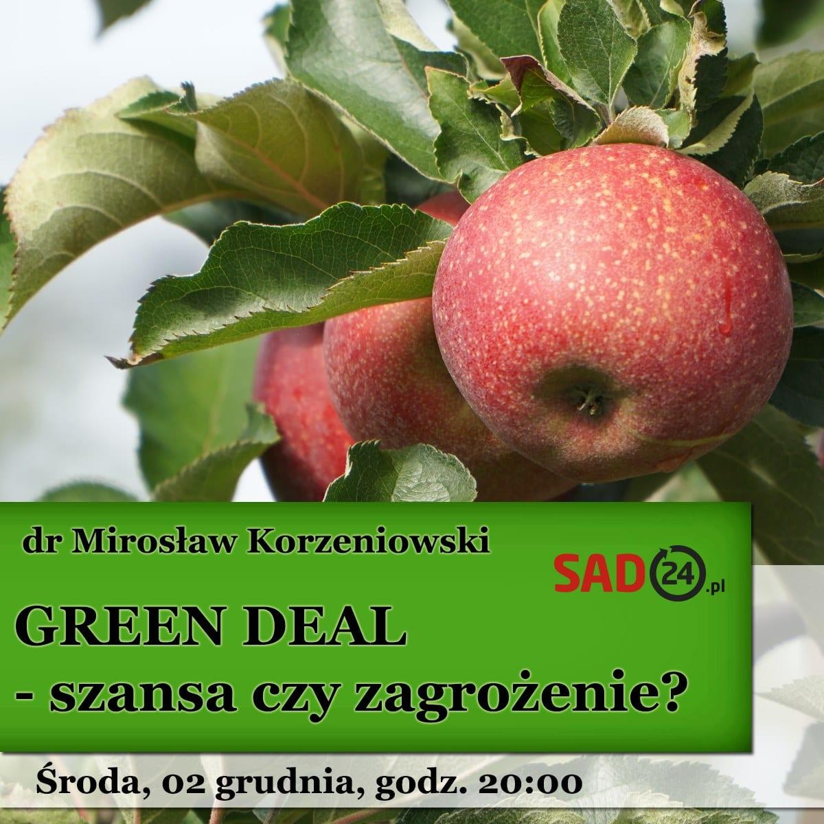 green deal warzywa