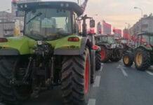 protest rolników w stolicy