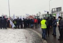 rolnicy protestują