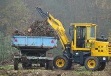 maszyna w gospodarstwie sadowniczym