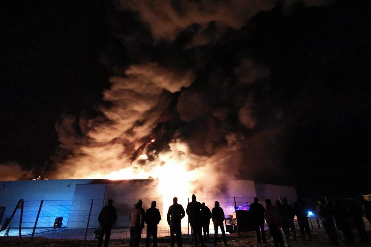 pożar grupy polskie sady w białej rawskiej