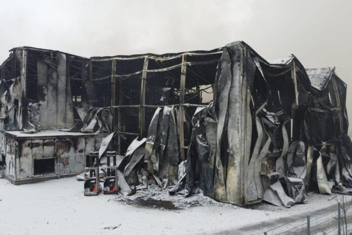 pożar w polskie sady