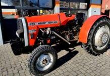 Efektowny Massey Ferguson 255 Turbo w gospodarstwie sadowniczym [Video]