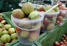 jabłka w polskich marketach