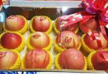 jabłka na prezent