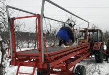 platforma sadownicza wypadek