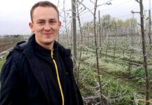 #4 Komunikat sadowniczy Mateusz Nowacki. Przymrozki, zraszanie nadkoronowe, 26.04.2021