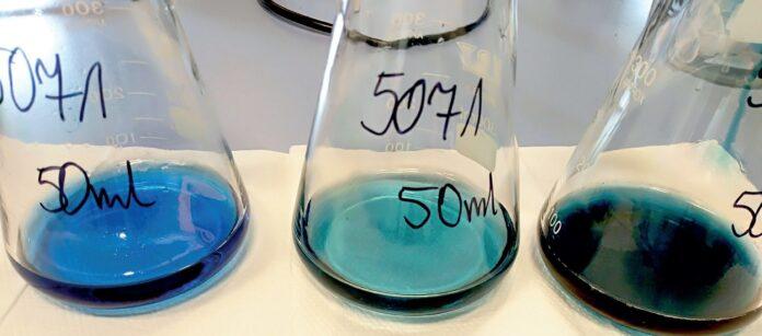 Analiza twardości wody w laboratorium