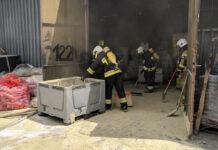 pożar w Kluczkowicach