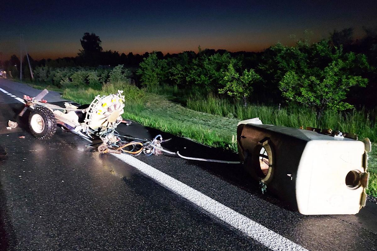 wypadek DK50
