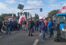 Sadownicy zablokowali już krajową 50-tkę