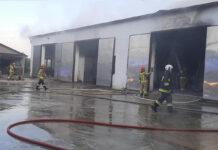 pożar w gospodarstwie