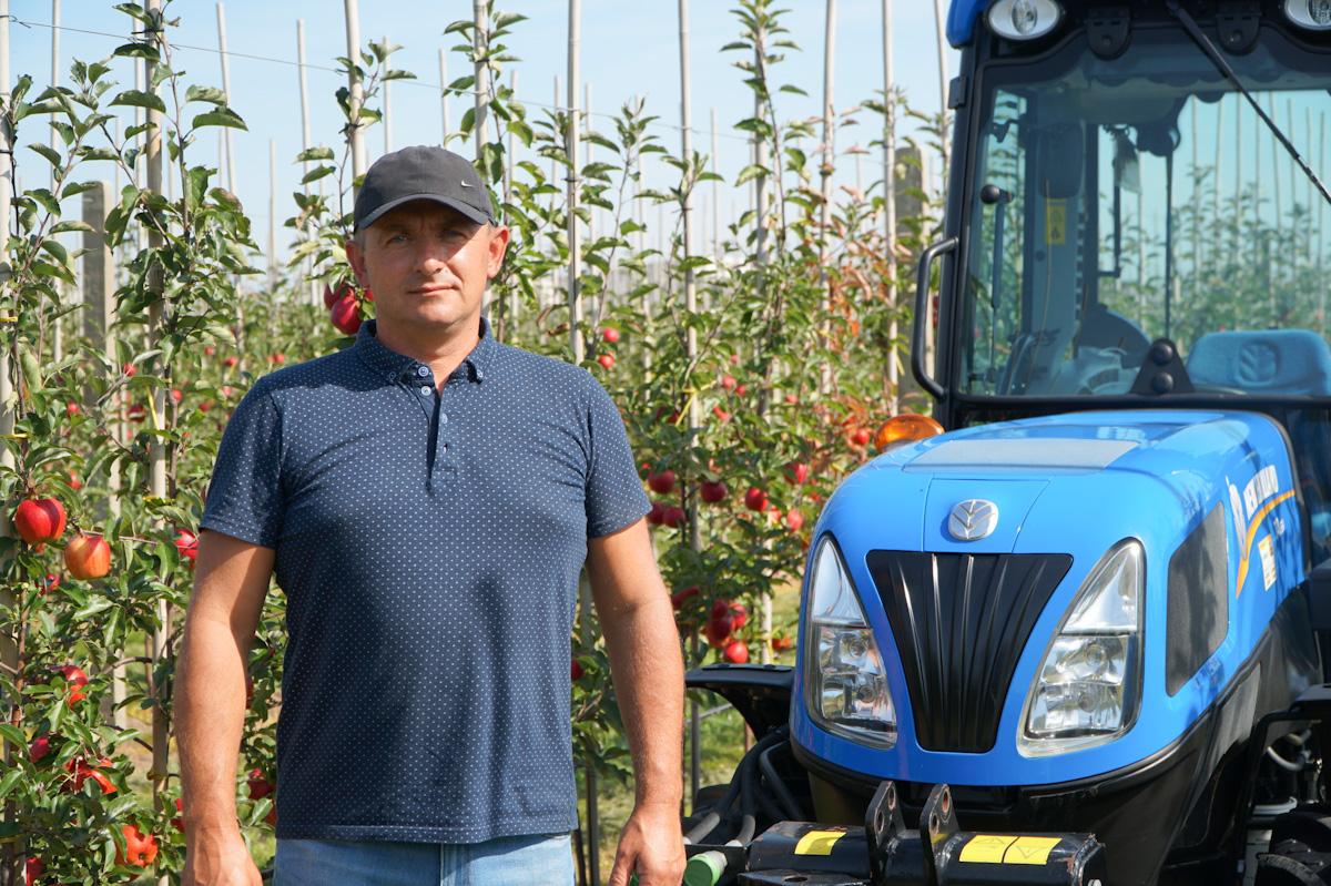 New Holland T4.65V w gospodarstwie Grzegorza Kilijańskiego