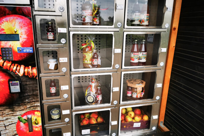 automat do jabłek